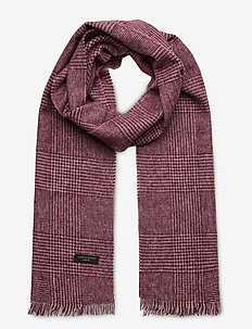 Scarf - scarves - wine red