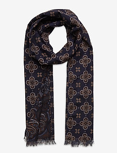 Scarf - scarves - navy