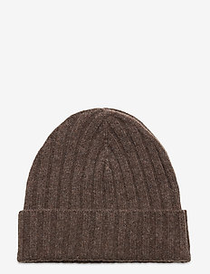 Merino wool Beanie - mützen - brown