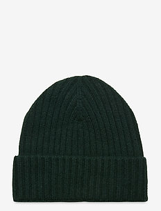 Pure Cashmere Beanie - mützen - bottle green