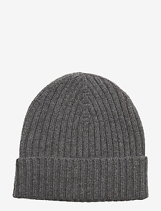 Knitted Beanie - GREY MELANGE