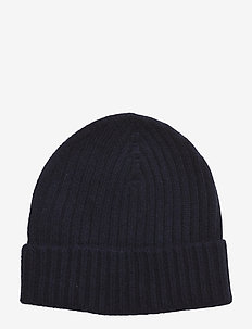 Knitted Beanie - NAVY