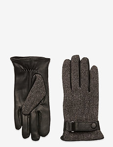Leather Gloves - hansker - black