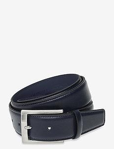 Belt - paski klasyczne - navy