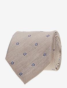 Classic Tie - krawatten - beige