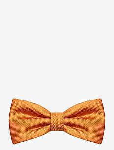 Jacquard Pre Tie - fliegen - orange