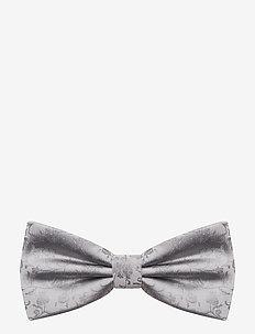 Jacquard Pre Tie - muchy - silver