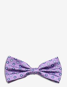 Printed Pre Tie - flugor - lilac
