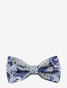 Classic Pre Tie - butterflies - blue