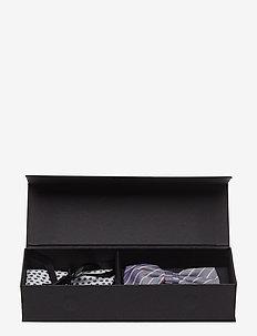 Pre Tie & Pocket Box - poszetka - navy