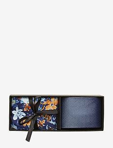 Tie & Pocket Square - NAVY