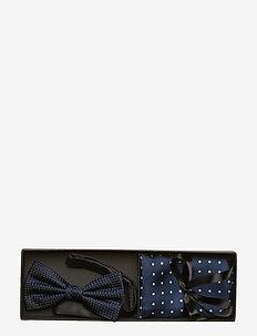 Pre Tie & Pocket - NAVY