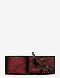 Tie & Pocket Square - BORDEAUX