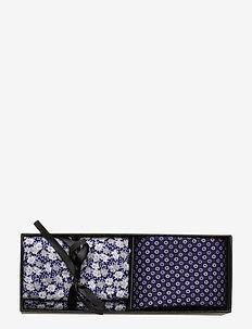 Tie & Pocket Square - poszetka - navy