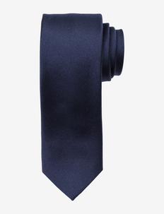 Slim Tie - krawatten - navy
