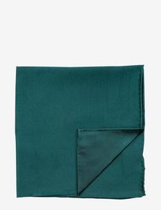 Pocket Square - poszetka - bottle green