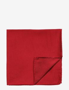 Pocket Square - einstecktücher - wine red