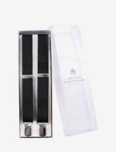 Suspenders - szelki - black