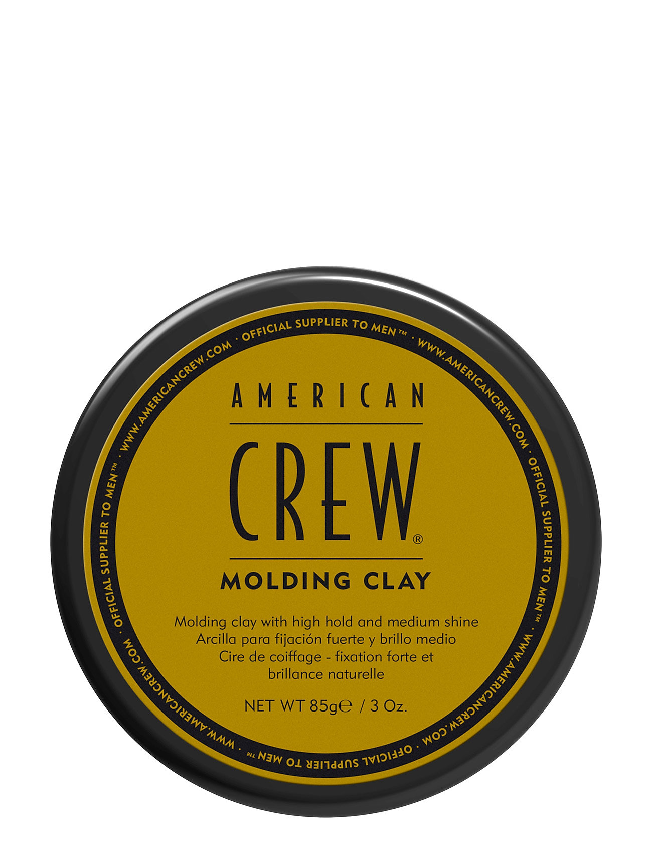 Image of Classic Styling Classic Molding Clay Stylingcreme Hårprodukter Nude American Crew (3184858809)