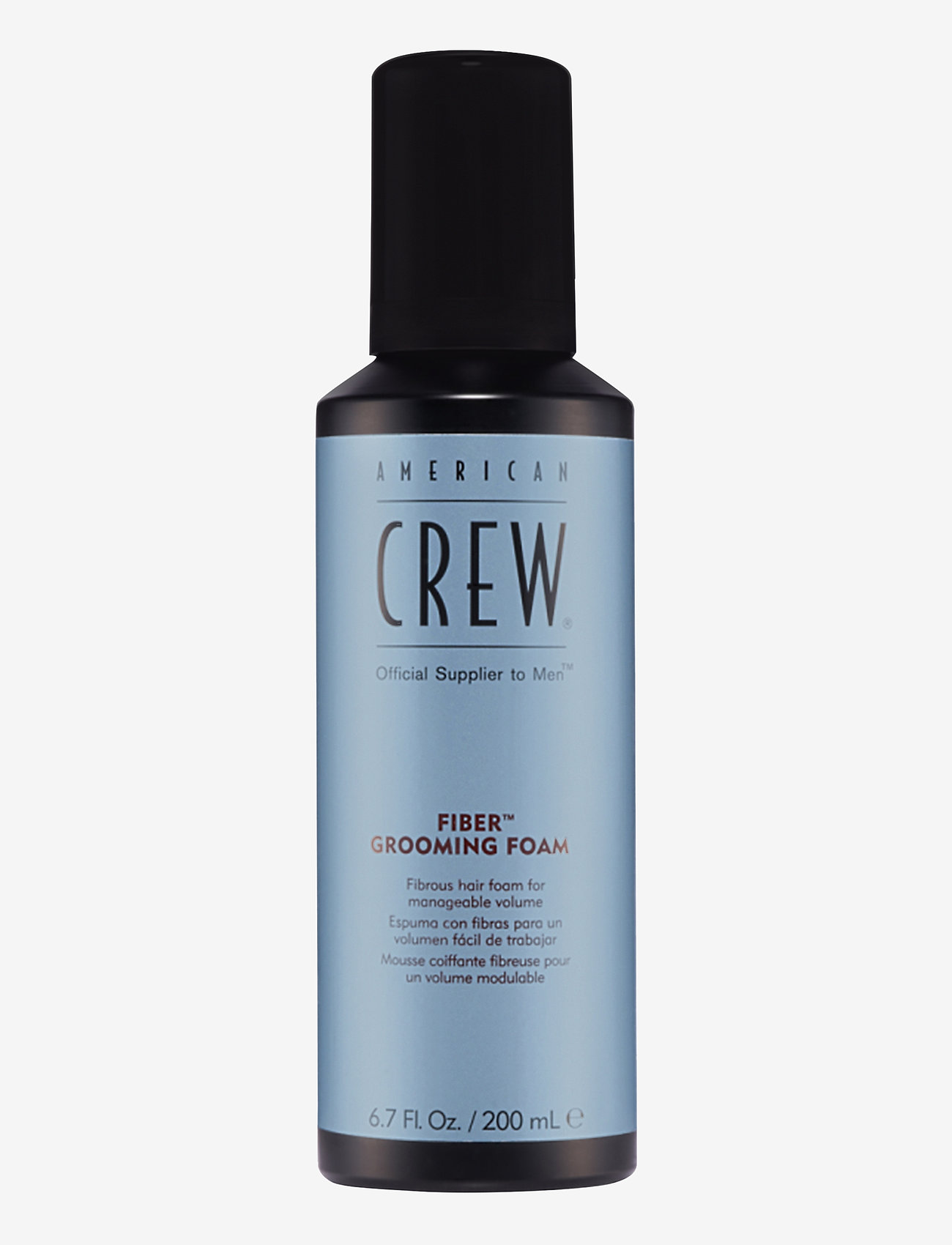 American Crew - CLASSIC STYLING FIBERGROOMING FOAM - hårmousse - no color - 0