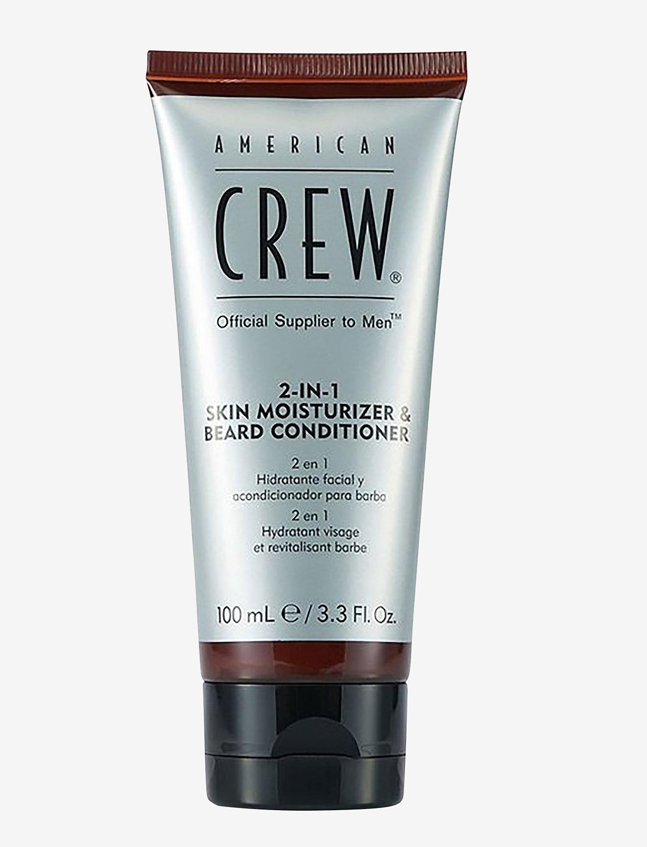 American Crew - BEARD 2 IN 1 SKIN MOISTURIZER AND BEARD CONDITIONER - skægolie - no color - 0