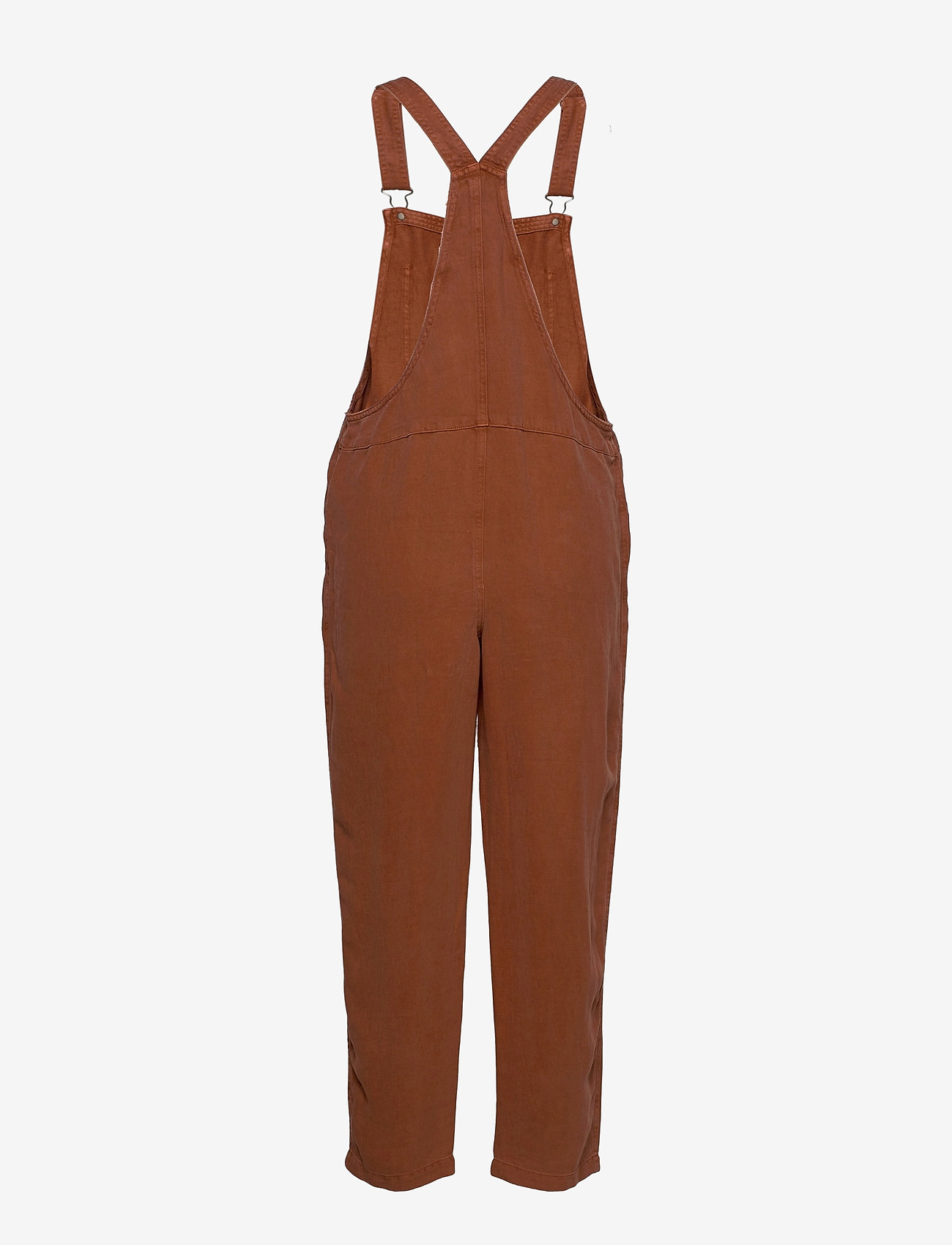 American Eagle - Aerie Twill Overall - clothing - jupiter brown - 1