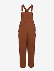American Eagle - Aerie Twill Overall - clothing - jupiter brown - 0