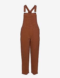 Aerie Twill Overall - kleding - jupiter brown