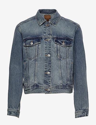AE Classic Denim Jacket - jeansjakker - medium wash