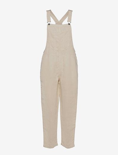 Aerie Twill Overall - klær - natural