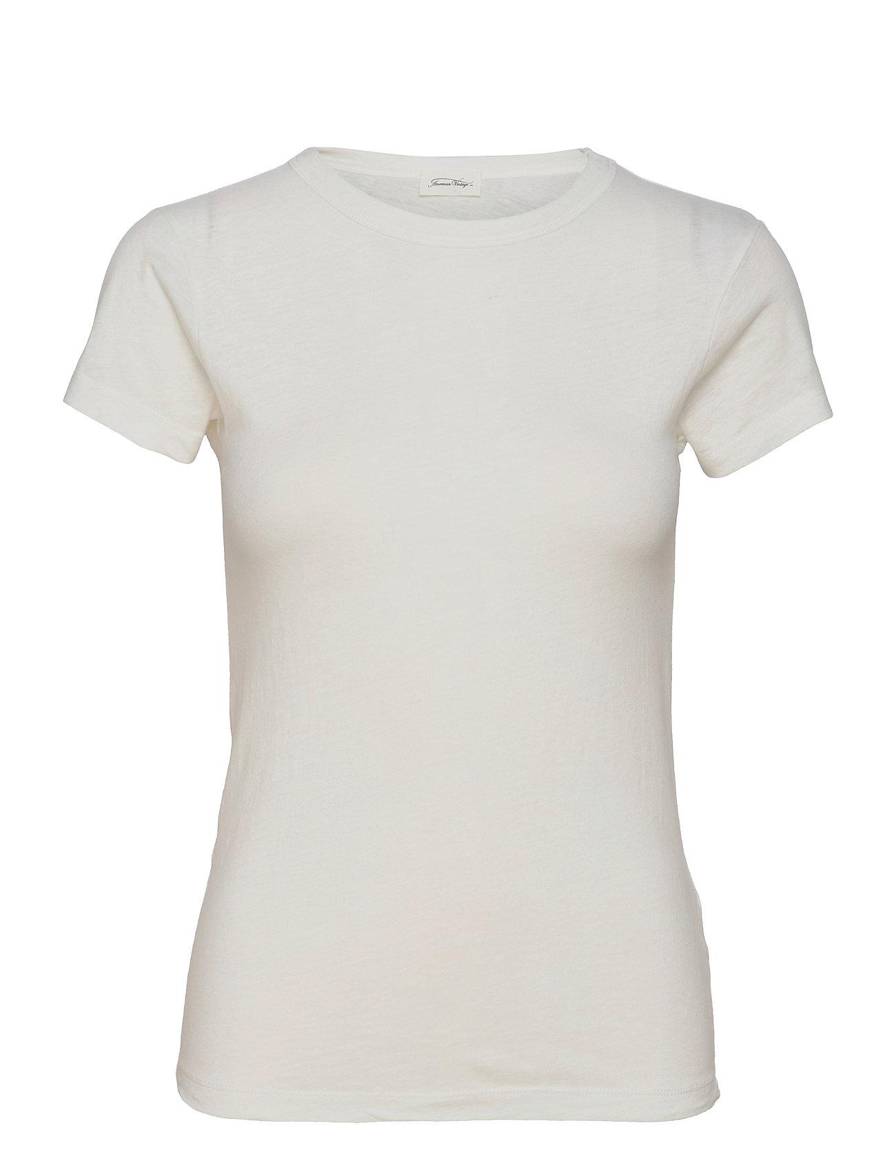 Aksun T-shirt Top Hvid American Vintage