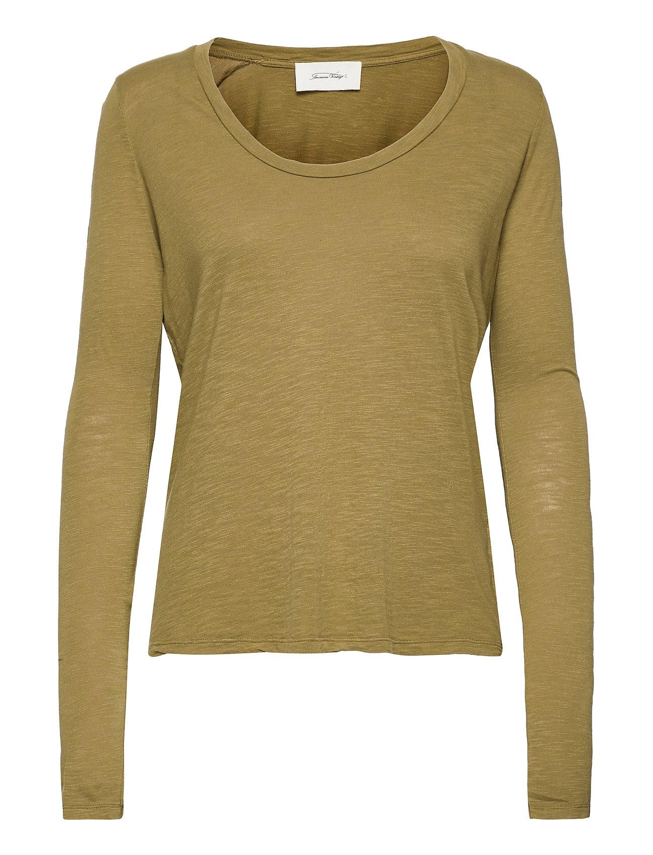 Jacksonville Langærmet T-shirt Grøn American Vintage