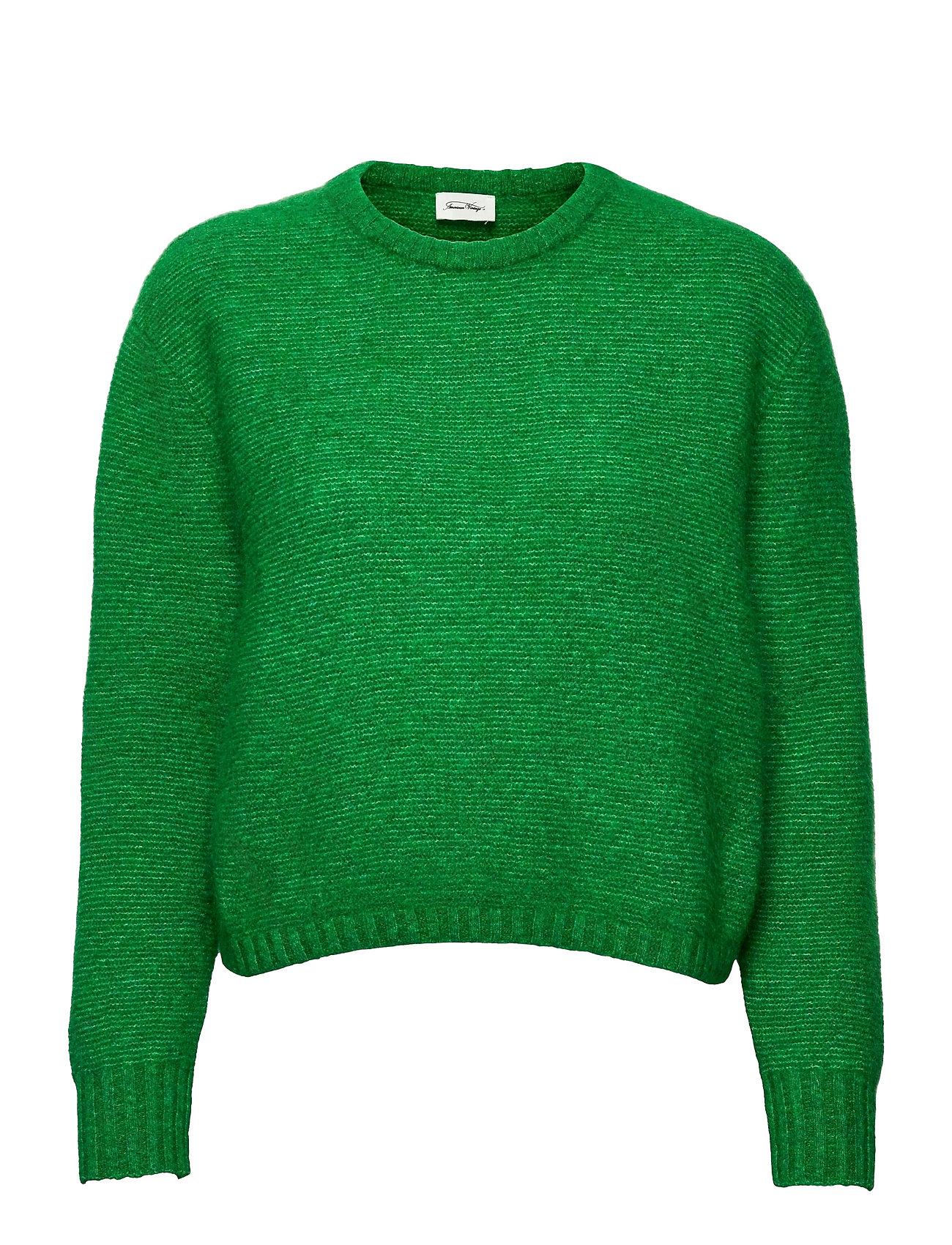 Zabidoo Strikket Trøje Grøn American Vintage