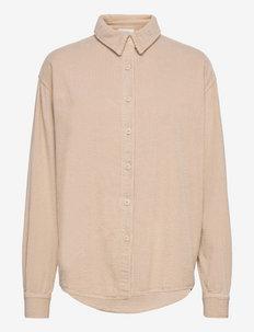 PADOW - marškiniai ilgomis rankovėmis - mastic