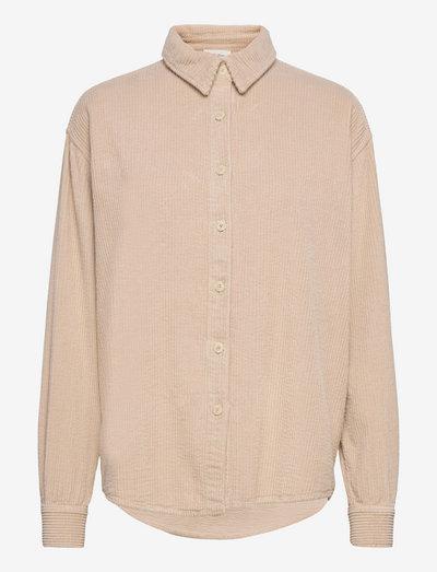 PADOW - langærmede skjorter - mastic