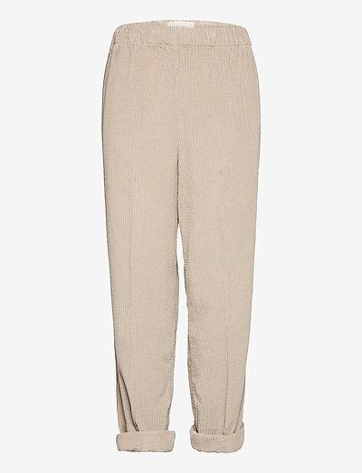PADOW - casual bukser - mastic