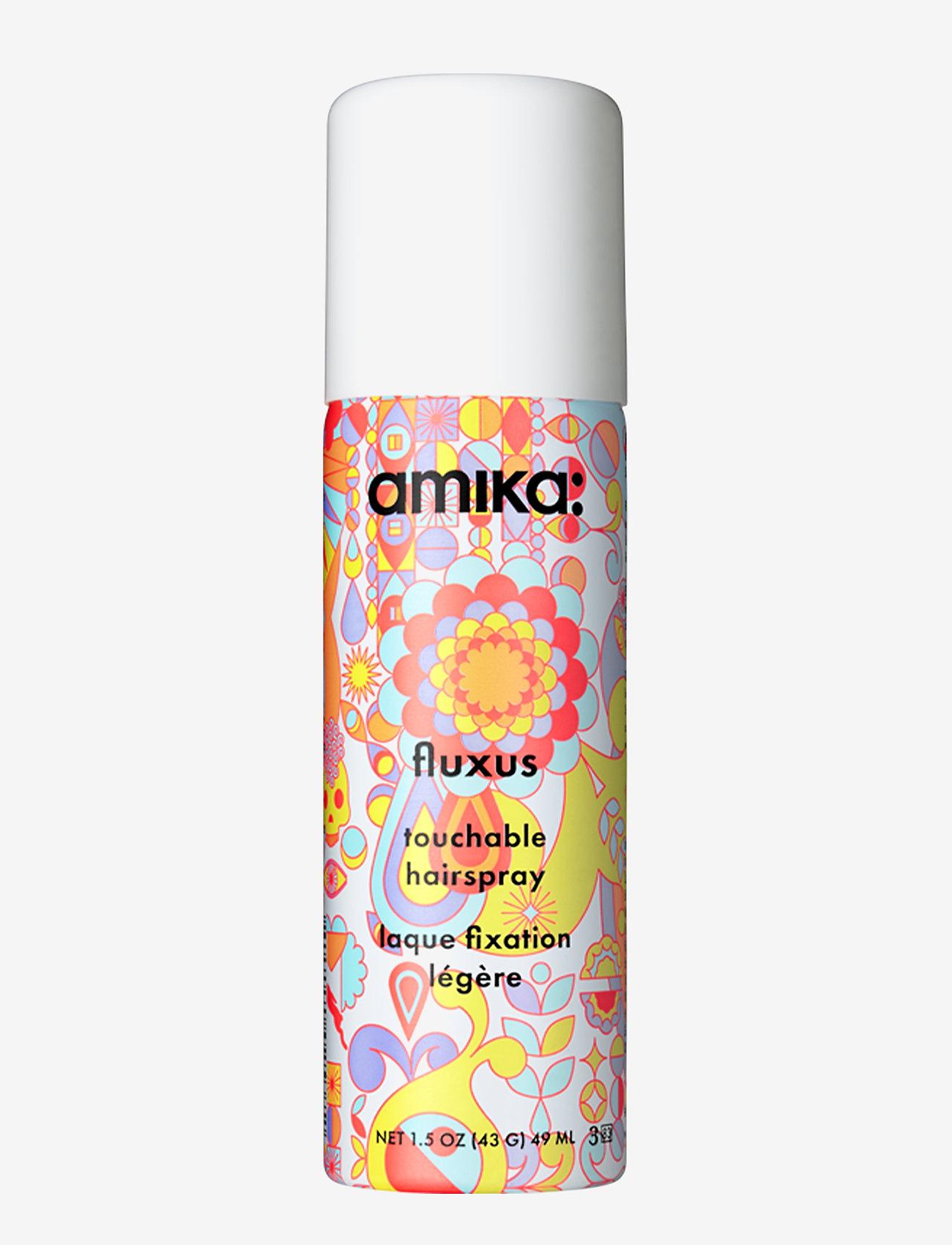 AMIKA - Fluxus Touchable Hairspray - hårspray - no colour - 0