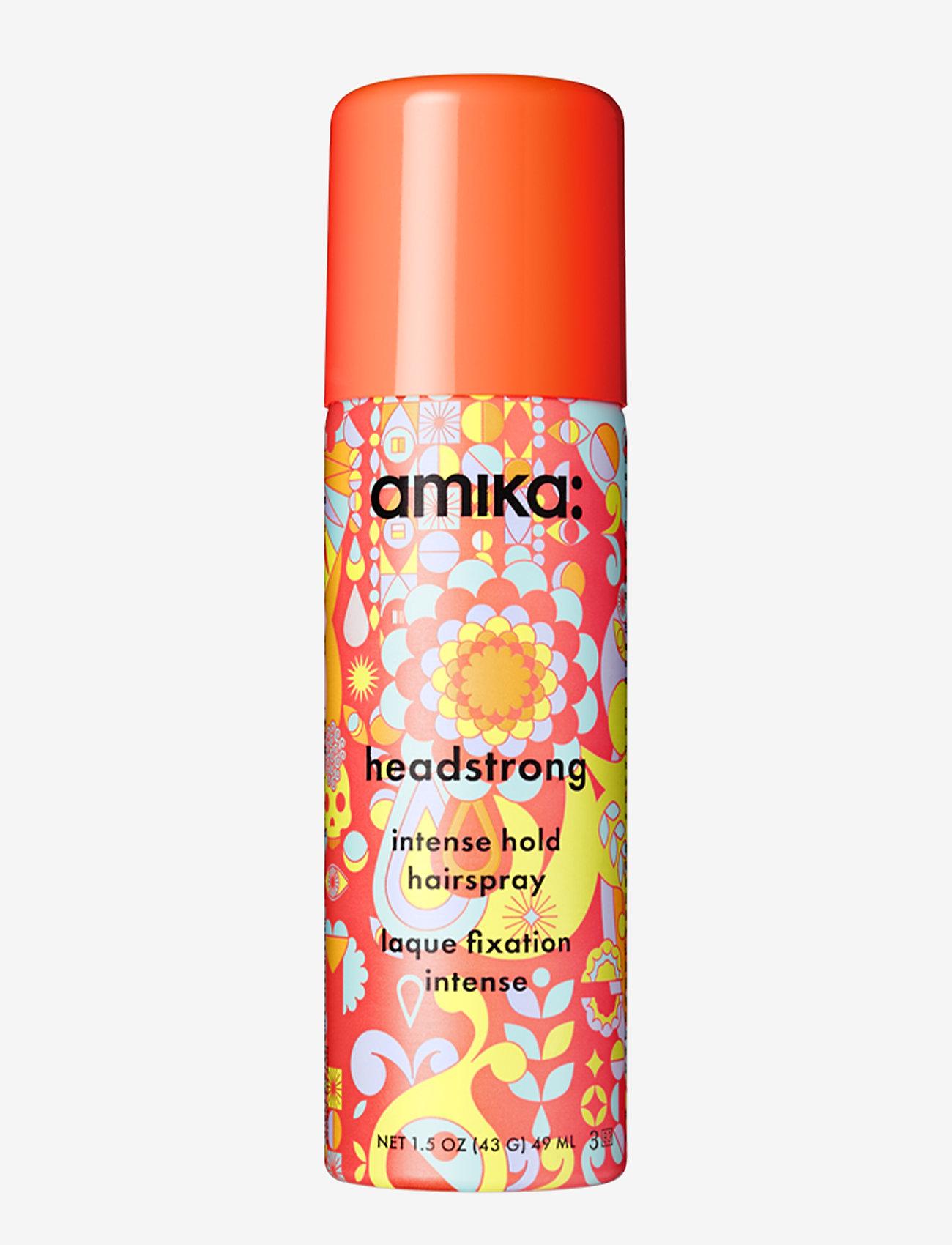 AMIKA - Headstrong Intense Hold Hairspray - hårspray - no colour - 0