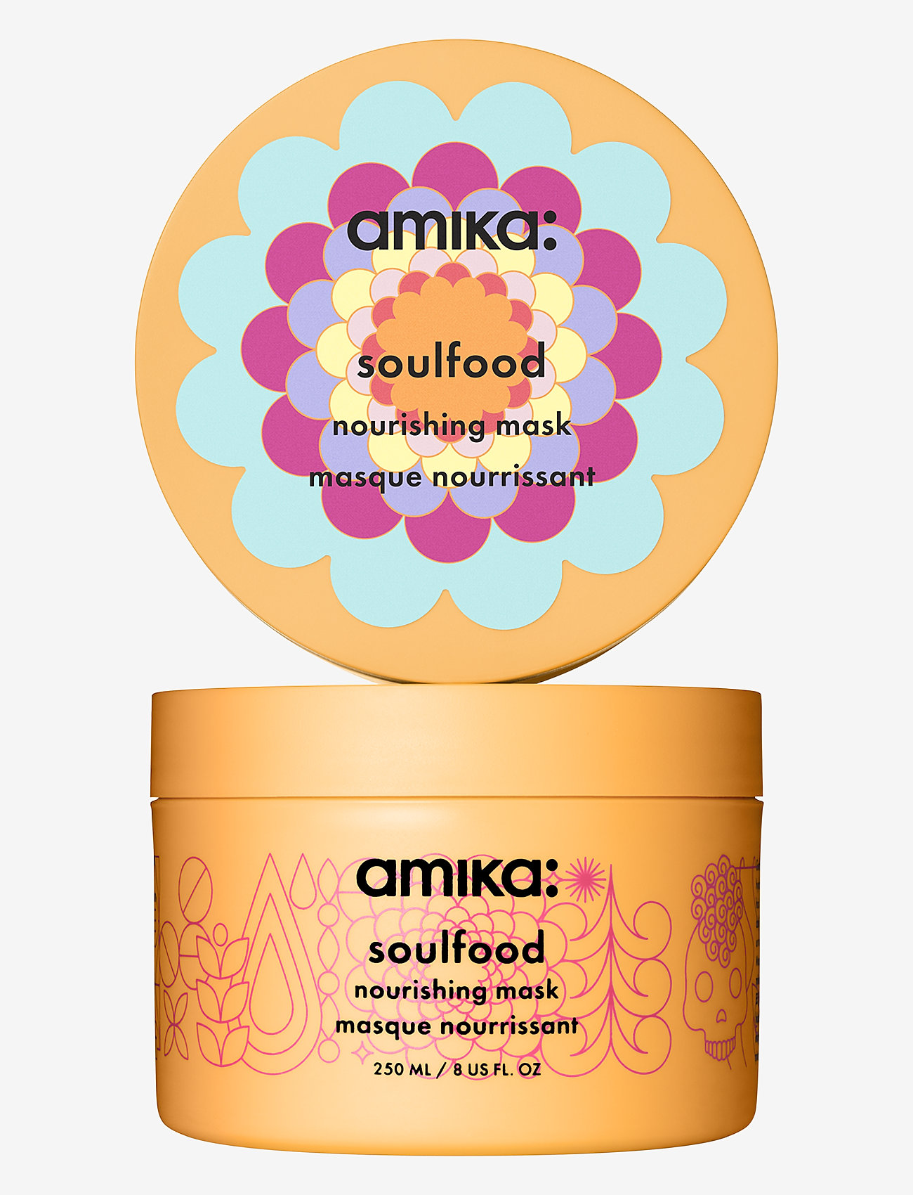 AMIKA - Soulfood Nourishing Mask - hårmasker - no colour - 0