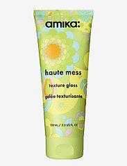 AMIKA - Haute Mess Texture Gloss - vahat & geelit - no colour - 0