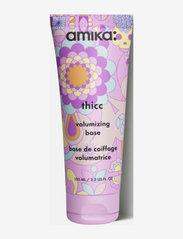 AMIKA - THICC VOLUMISING BASE - hårmasker - no colour - 0