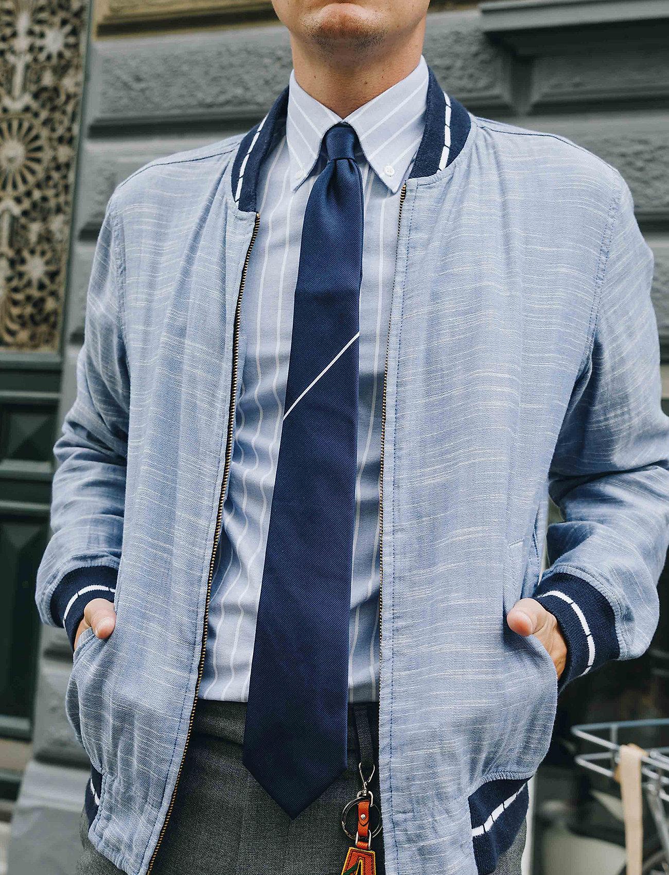 An Ivy - The Navy Draper - cravates - navy/white - 0