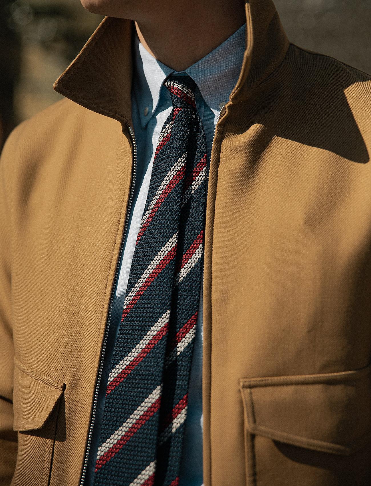 An Ivy - Blue White Red Grenadine Tie - cravates - blue/white/red - 0