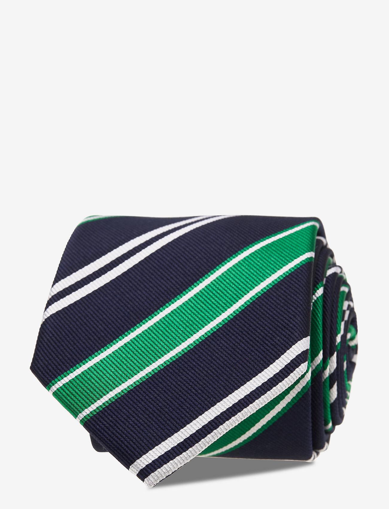 An Ivy - Navy Club Tie - cravates - navy/green/white - 1