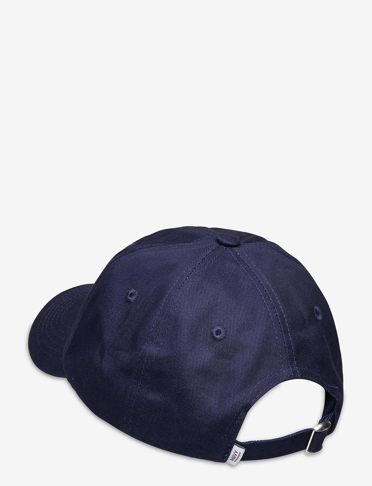 An Ivy - Navy Shopper Cap - kasketter - white/navy/brown - 1