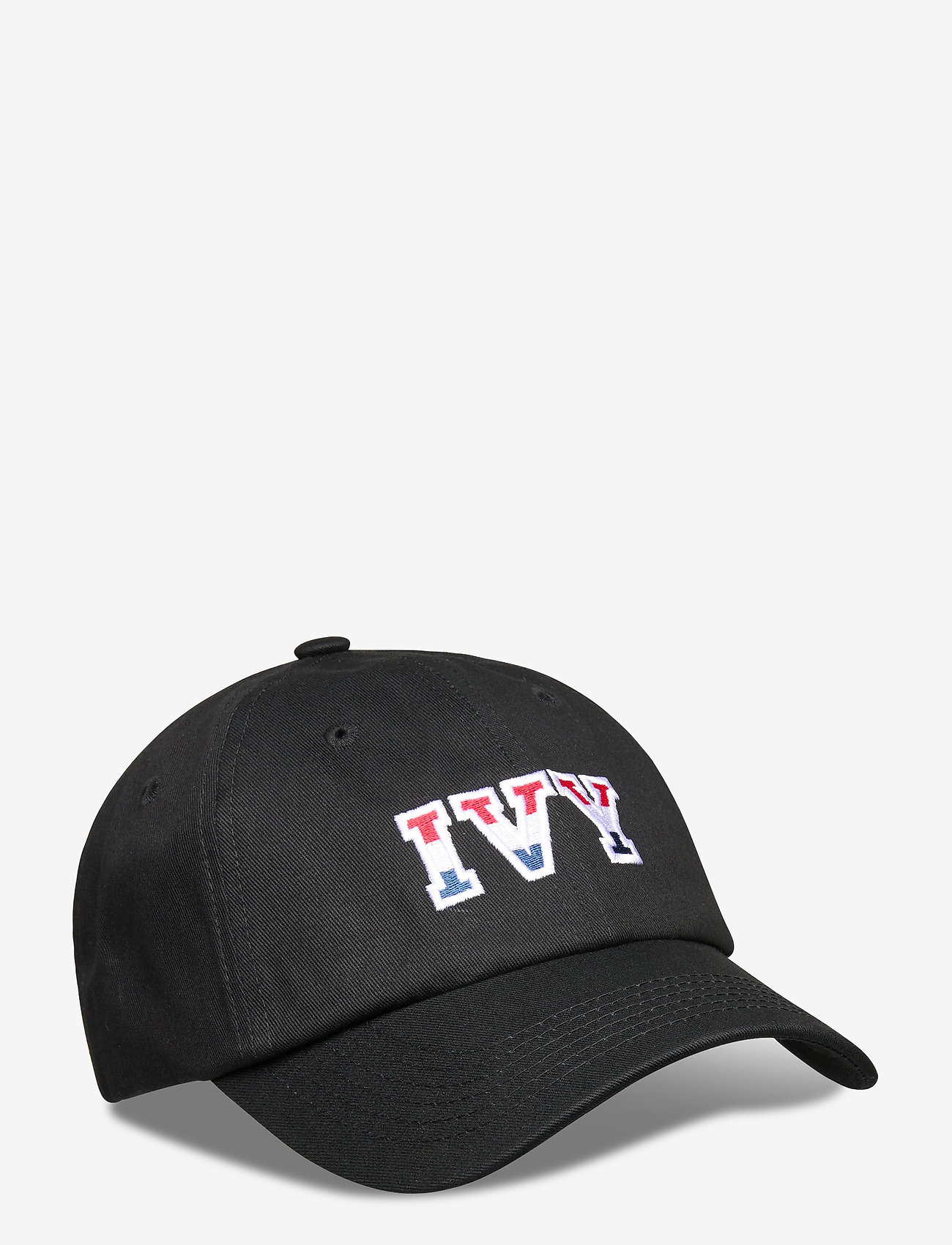 An Ivy - Ivy Black Cap - casquettes - black/white/red/navy - 0
