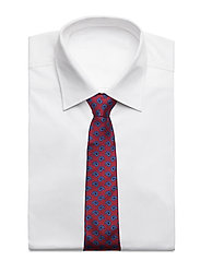 An Ivy - Burgundy Blue Oversized Paisley - cravates - burgundy/blue - 2