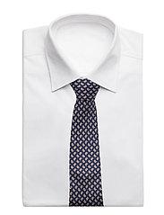 An Ivy - Navy Orange Printed Counselor - cravates - navy/orange/white - 2