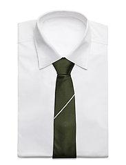 An Ivy - The Green Draper - cravates - green/white - 2