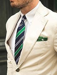 An Ivy - Navy Club Tie - cravates - navy/green/white - 2